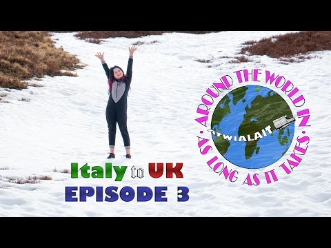 Italy Motorhome Trip March 2017 Episode 3