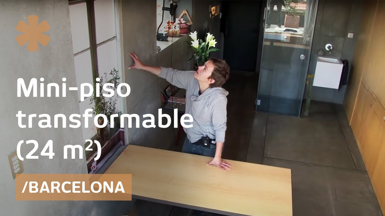 Un mini apartamento que se transforma en infinitos for Como decorar un apartamento moderno