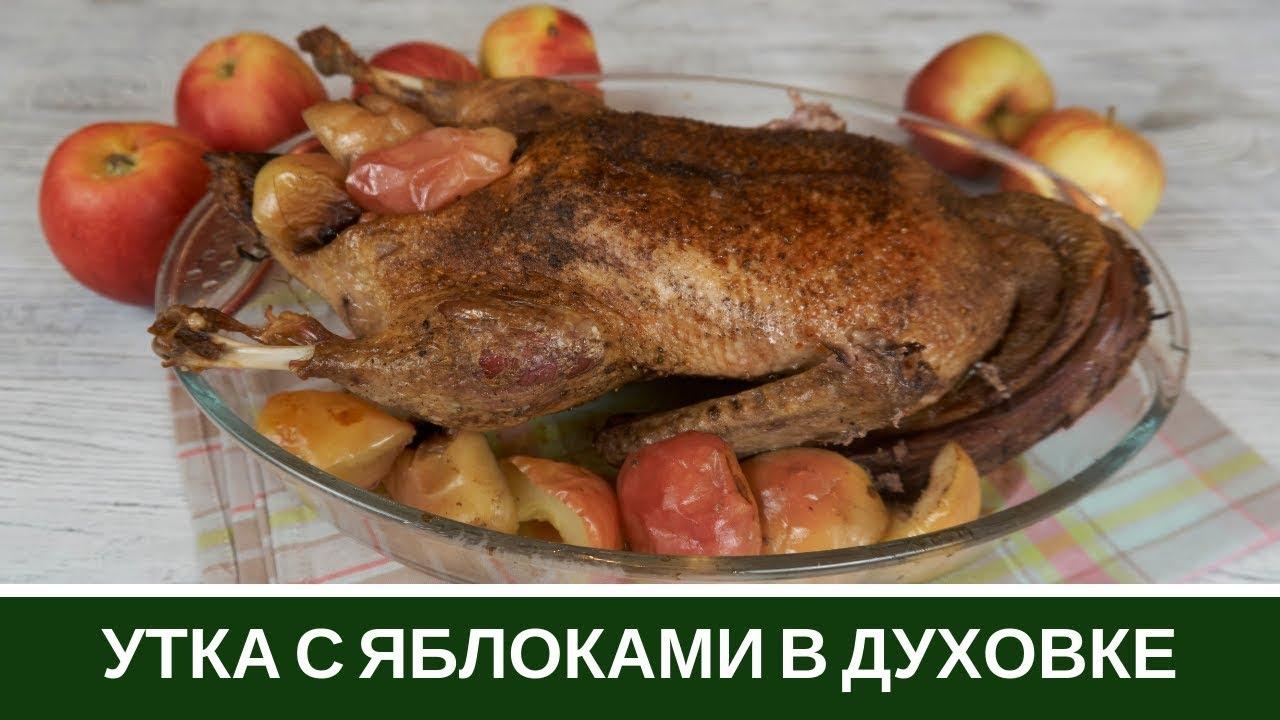 СЕКРЕТ Сочной и Нежной УТКИ с Яблоками в Духовке Как приготовить
