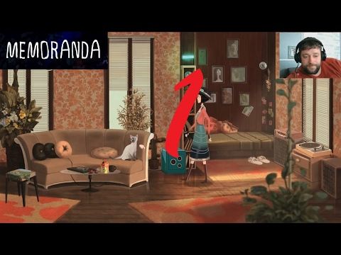 Let's Play Memoranda deutsch - #01, Indie, Point & Click Adventure