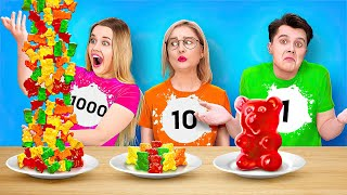 100 LAYERS CHALLENGE || Tiktok Challenges With 100 Coats by 123 Go! Live