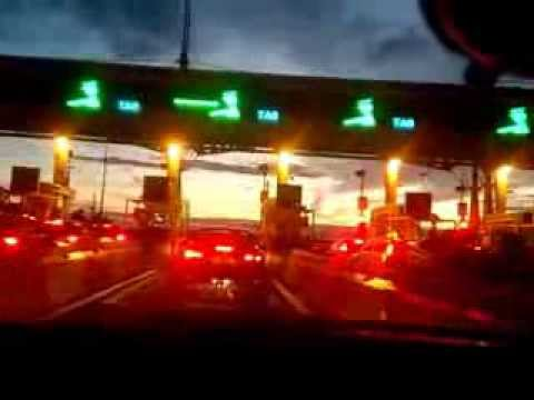 Driving in England and Wales: M4 Severn Bridge to Cardiff