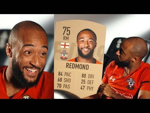 Nathan Redmond reacts to his new FIFA 19 rating! 🤣