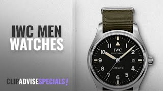 10 Best Selling IWC Men Watches [2018 ]: IWC Schaffhausen Pilot