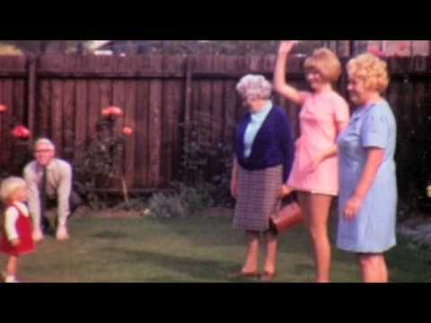 In Mother and Fathers garden early 1970