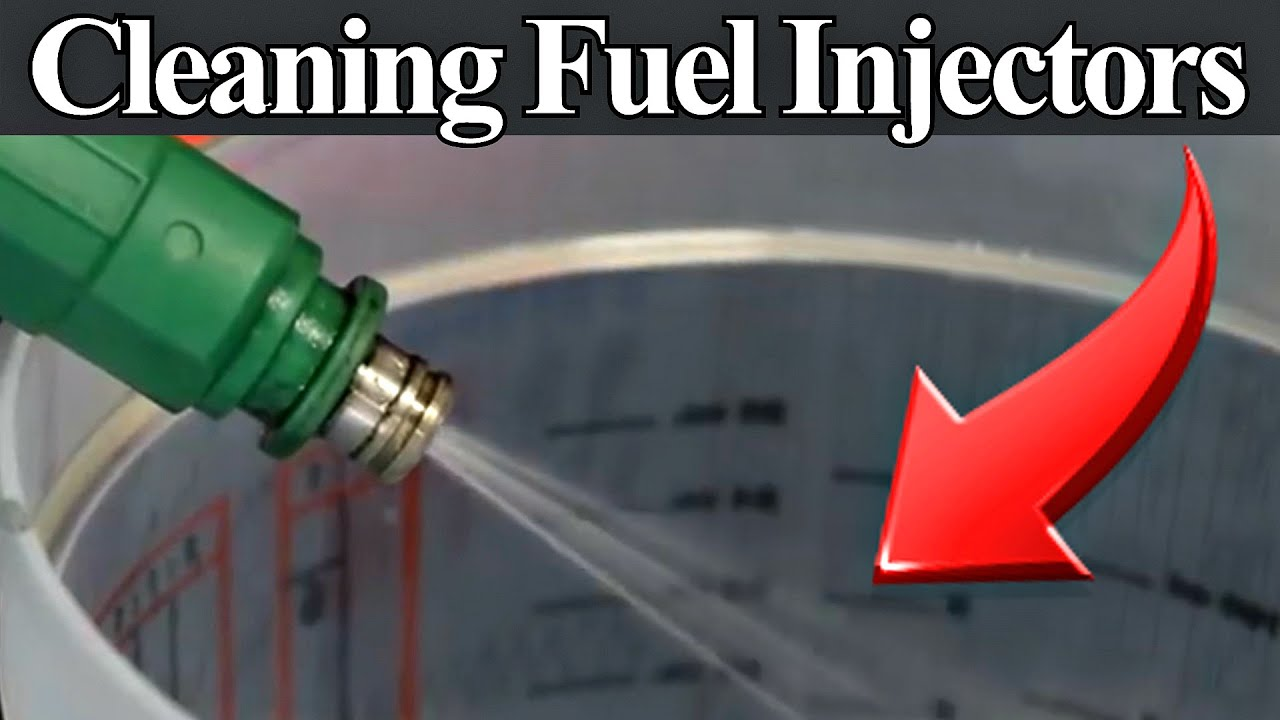 hight resolution of cleaning dirty or clogged fuel injectors diy without using expensive equipment