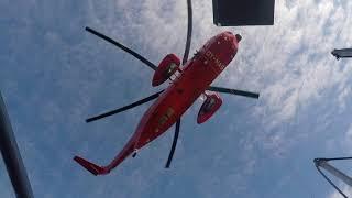 Dansk-fransk redningsøvelse i Grønland