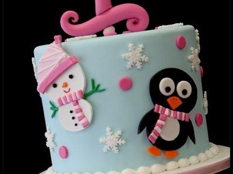 winter 1st birthday cupcake tower youtube