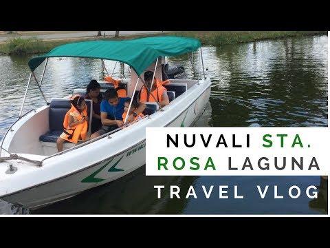 Travel to the Philippines | Feeding Fish and Boat Ride at Nuvali Sta  Rosa Laguna