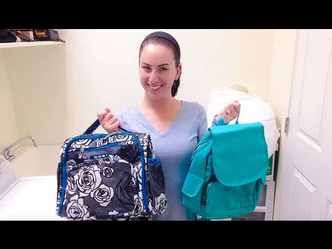 How To Wash Ju Ju Be And Kipling For The Best Results Youtube