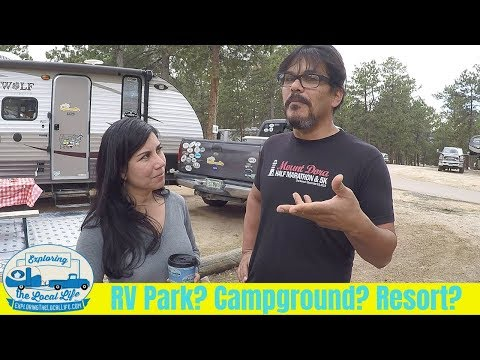RV Park? RV Resort? Campground? What does it all mean? - YouTube