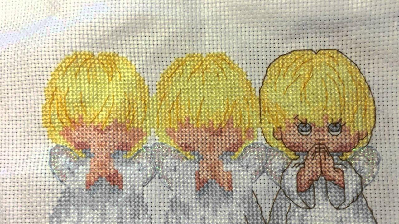 Вышивка опаловой лентой
