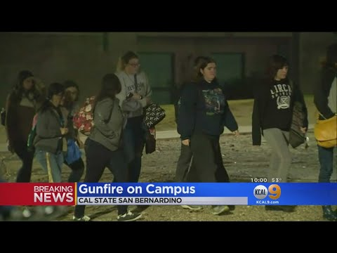 Shots Fired On Campus Of CSUSB