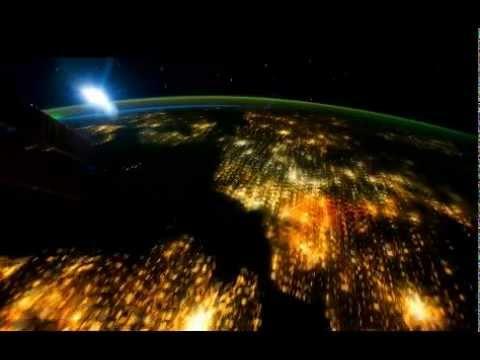 de aarde vanuit ruimtestation iss gezien - youtube