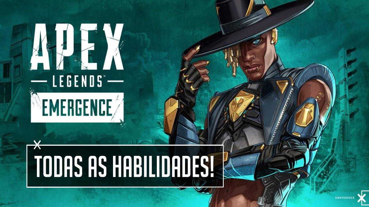 SAIU! KIT DE HABILIDADES OFICIAIS DO SEER! (Apex Legends SEASON EMERGENCE)