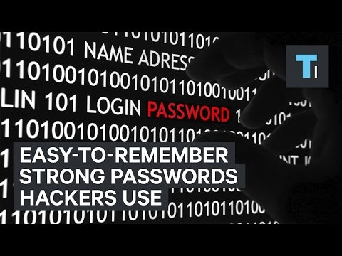 Easy-to-remember strong passwords hackers use