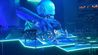Muse - Stockholm Syndrome / Assassin / Reapers / The Handler / New Born Budapest 2019 05 28