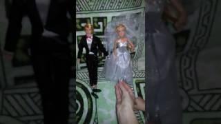 Куклы жених и невеста. Часть 3.