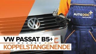 Wie Spurkopf VW PASSAT Variant (3B5) wechseln - Online-Video kostenlos