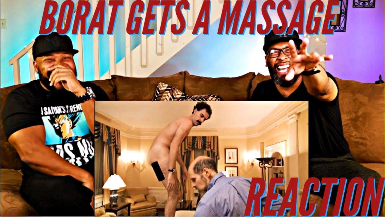 Borat Gets A Massage Reaction - YouTube