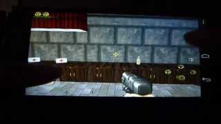 Duke Nukem 3D Android - Gameplay Mobile Version LG E960 Nexus 4 / uncomfortable control