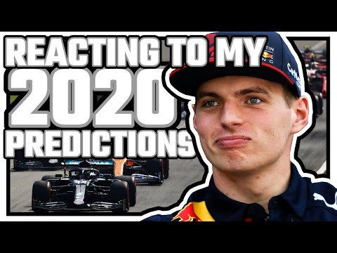 Reacting To My TERRIBLE 2020 F1 Predictions