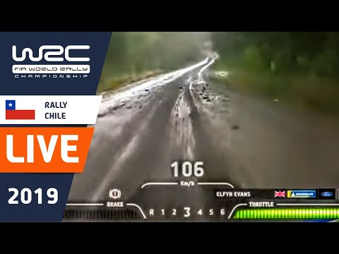 WRC - Copec Rally Chile 2019: Shakedown Re-LIVE