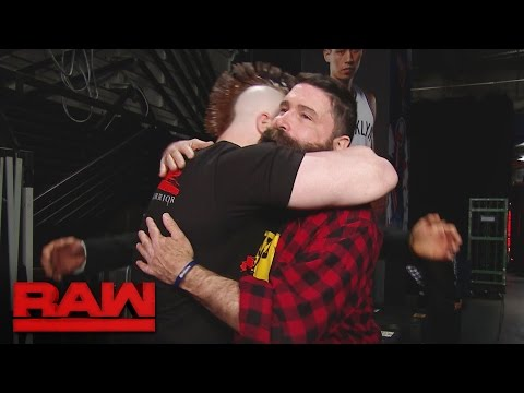 Raw Superstars say goodbye to Mick Foley: Raw, March 20, 2017