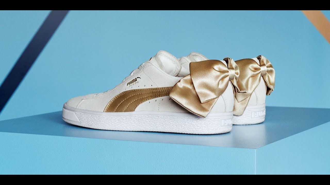 578ccc80 Puma Suede Bow Varsity - YouTube
