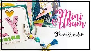 PINK AND PAPER Design Team - Mini Album Process