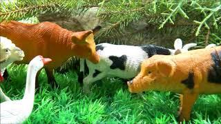 ВОЛКИ и СТОРОЖЕВОЙ ПЁС Домашние животные в лесу 2 серия Мультфильмы про животных для детей