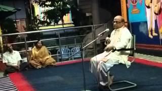Part9 Sri Krishna Leelalu. Sri Garikipati Narasimha Rao gari pravachanam June 2015