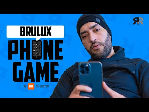 Youtube: BRULUX – PHONE GAME : Son 1er téléphone, Chily, Snapchat, Karim Benzema, son emoji favori…