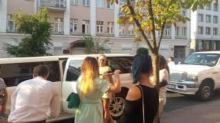 25.10.13 - Сгоревший белый лимузин: война из-за бизнеса?