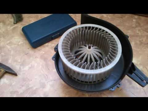 Замена вентилятора печки Приоры