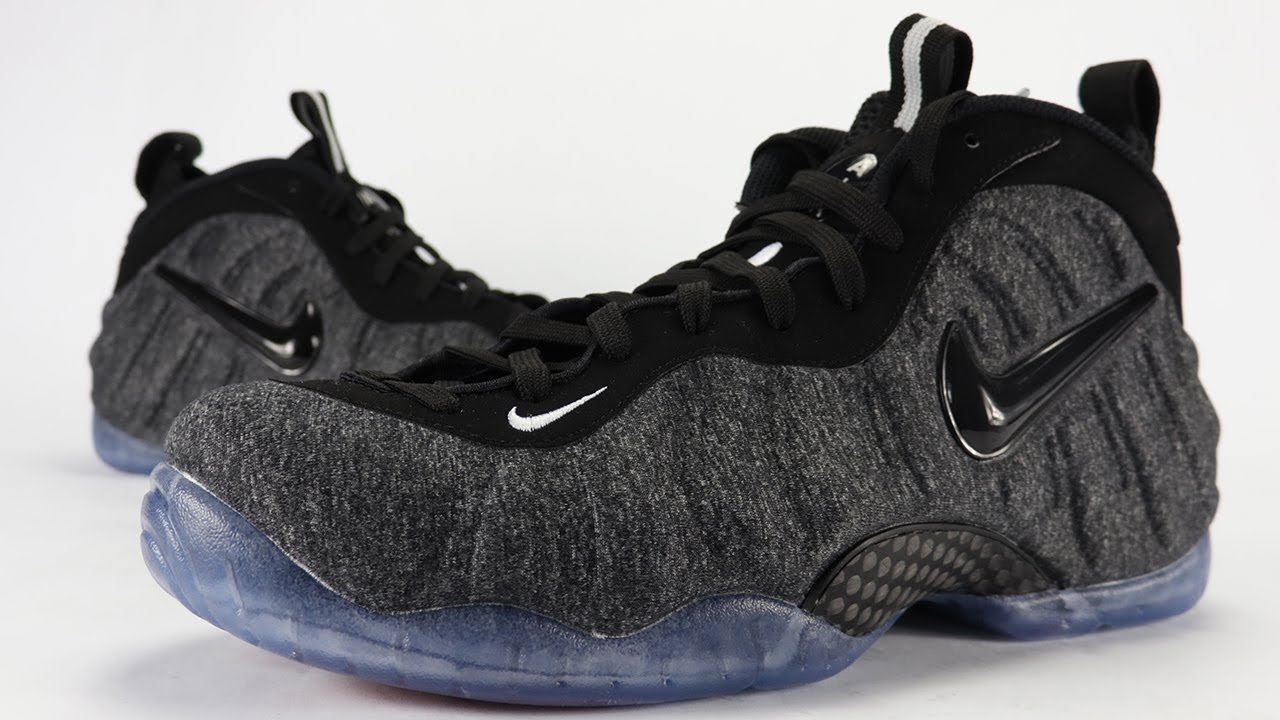 460949660d6ab1 Nike Air Foamposite Pro Tech Fleece Review + On Feet - YouTube