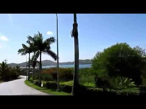 Travel & holiday information, Antigua (Caribbean) - driving towards Falmouth Harbour
