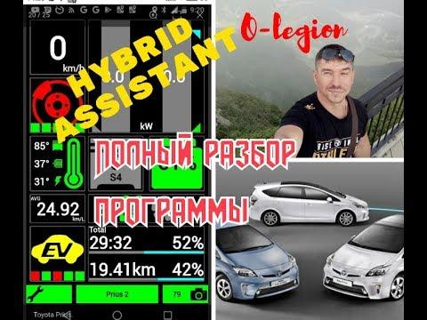 Toyota Prius: Диагностика автомобиля.  Hybrid Assistant