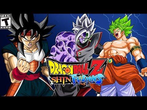 DBZ: SHIN FUSIONS (DBZ SHIN BUDOKAI 2 MOD) | All Characters and  Transformations [PPSSPP - HD]