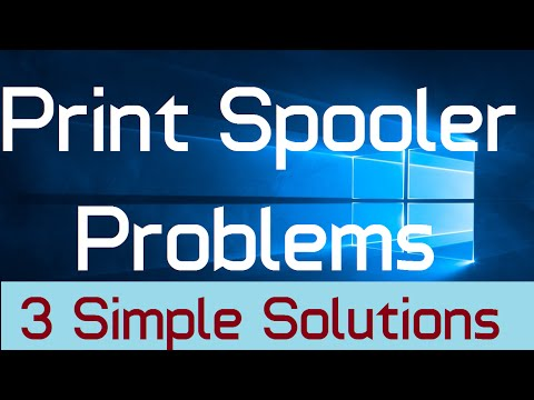 How To Fix Problems With Print Spooler In Windows 10 (Solved: 3 Simple Steps)
