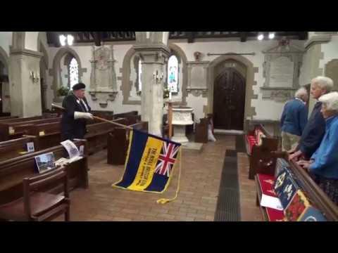 Bryan Paull Remembrance Service 30 September 2016