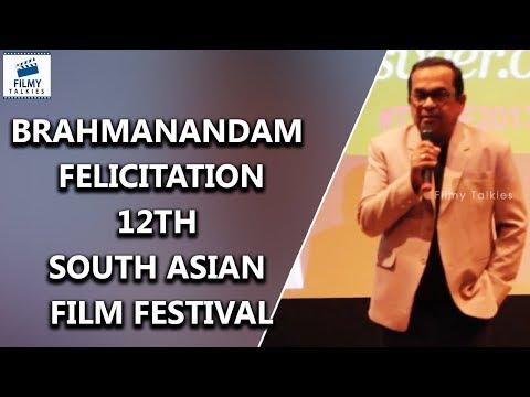 Brahmanandam Felicitation in 12th South Asian Film Festival | Latest Film News | FilmyTalkies