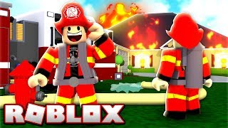 WE TURN FIREFIGHTERS INTO ROBLOX!