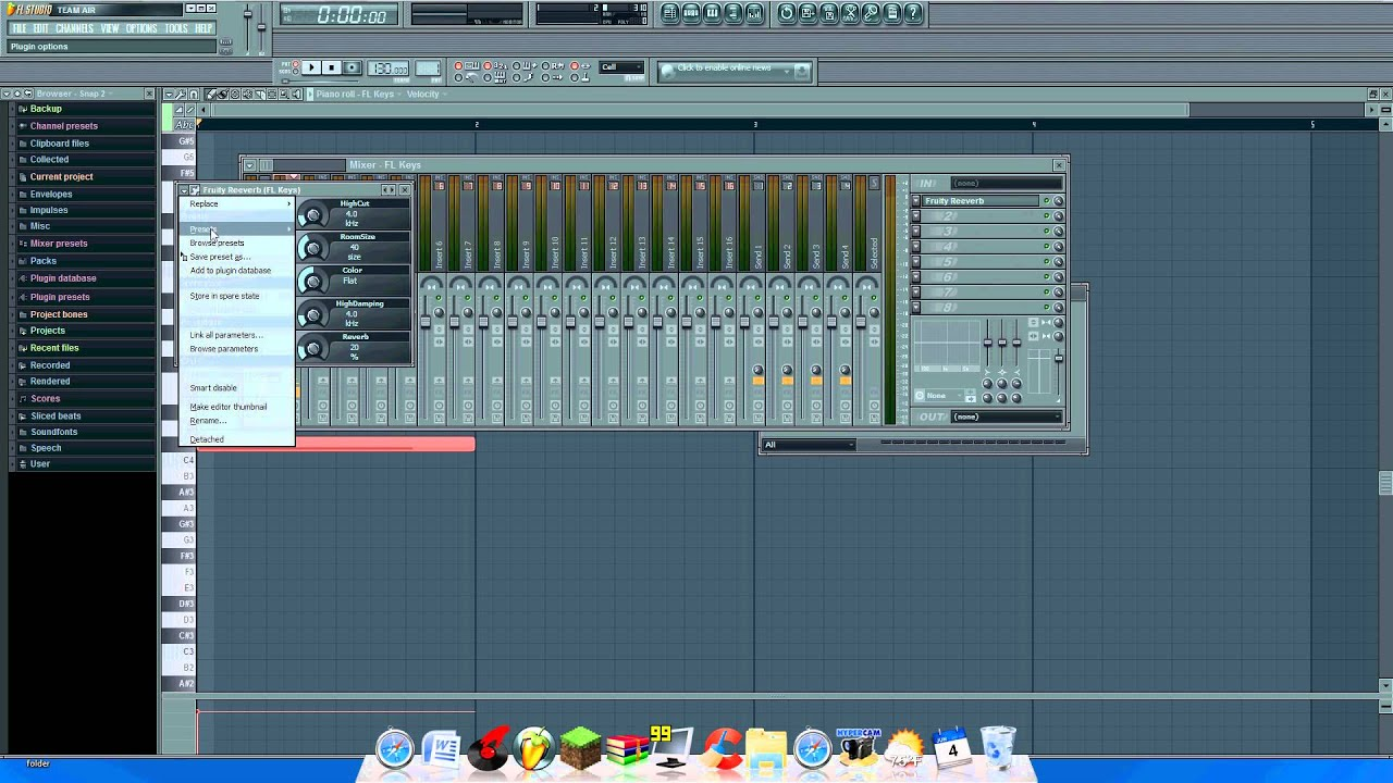 How To Add Reverb ( echo effect ) on Fl Studio