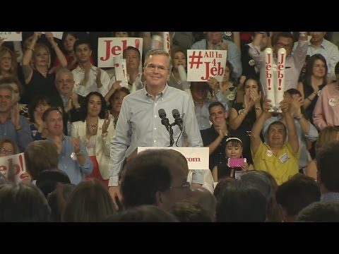 WEB EXTRA: Jeb Bush Announces Presidential Run