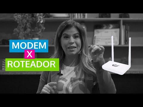 Diferença entre Modem e Roteador?