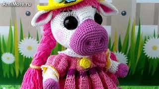 Амигуруми: схема Бурёнка Василиса. Игрушки вязаные крючком - Free crochet patterns.