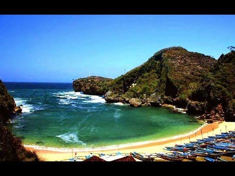 pantai baron tempat wisata gunung kidul yogyakarta