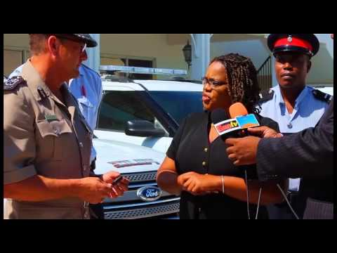 ONE CARIBBEAN REPORT TCI gets new police Cars April 9, 2014