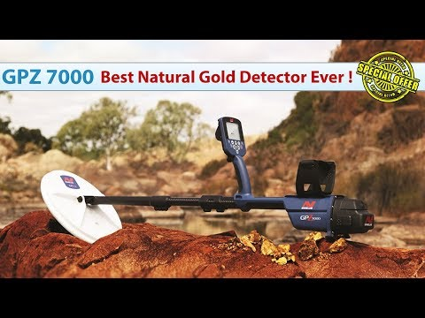 GPZ 7000 | Best Natural Gold Detector Ever - Special Offer in